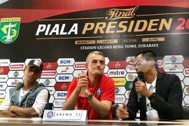 Pelatih Arema FC: Persebaya tim berbahaya (Video)