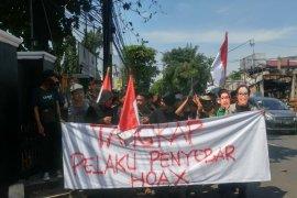 Massa berunjuk rasa tuntut Fadli Zon masuk penjara terkait sebar hoaks Ratna Sarumpaet