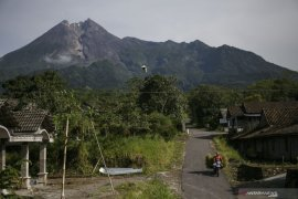 Gunung Merapi alami empat kali gempa guguran