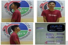 Buruh ditangkap simpan tujuh paket sabu-sabu