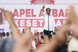 Kampanye Jokowi di Kabupaten Bandung