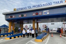 E Java's toll road's inauguration ceremony held
