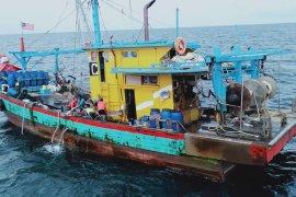 Kapal perikanan asing ilegal ditangkap KKP