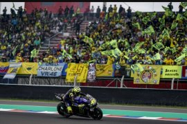 Duo pebalap Yamaha beri perlawanan ke Marquez di FP2 GP AS