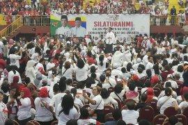 Jokowi targetkan suara di Jakarta minimal 55 persen