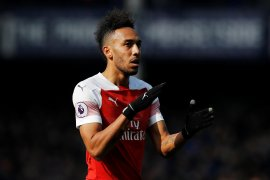 Arsenal turunkan Aubameyang lawan Napoli di Liga Europa