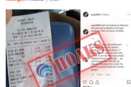 "Alfamart adukan ""hoaks donasiku untuk sembako politik"" ke Kemkominfo"