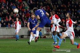 Chelsea petik kemenangan di kandang Slavia Praha