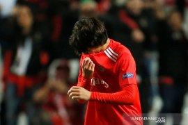 Joao Felix bawa Benfica tundukan 10 pemain Frankfurt