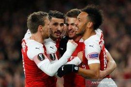 Arsenal-Chelsea raih kemenangan di kompetisi Liga Europa