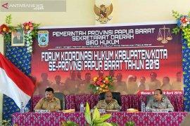 Pemprov Papua Barat siapkan Raperdasi Penyusunan Produk Hukum