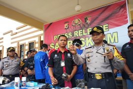Polisi ungkap kasus curanmor antar kabupaten