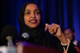 Ilhan Omar diserang putra Trump karena komentarnya mengenai 11/9
