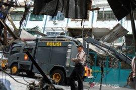 Ledakan gas ruko di Medan