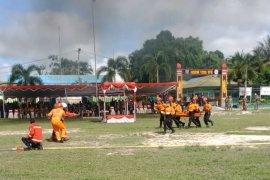 Pos SAR Sintang hadiri upacara HUT Satpol-PP dan Damkar-Linmas