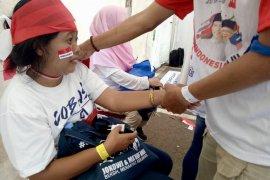 1.000 pemijat siap lepaskan kepenatan dan kelelahan relawan Jokowi-Ma'ruf di GBK