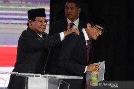 Prabowo-Sandi tegaskan tidak akan ambil gaji apabila terpilih