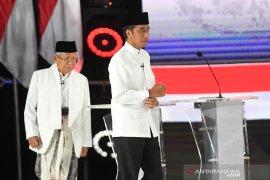 """Debat capres, Jokowi dorong pembangunan ekonomi """"Indonesia sentris"""""""