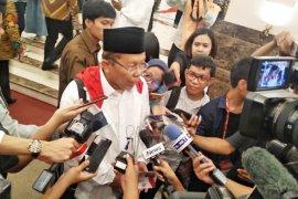Jokowi dan Ma'ruf Amin akan berbagi porsi dalam debat kelima