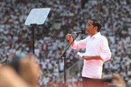 Jokowi: Jangan takut ke TPS karena dijaga TNI-Polri
