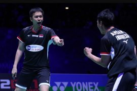 """The Daddies"" akan hadapi Kamura-Sonoda di final Singapore Open 2019"