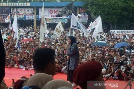 Rhoma Irama dan Nissa Sabyan semarakkan kampanye Prabowo-Sandi