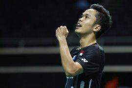 Anthony  melaju ke final Singapore Open 2019