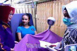 Vanessa Angel ikut penyuluhan kanker serviks di rutan