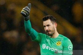 Hasil dan klasemen Liga bola Jerman, Dortmund sementara di puncak