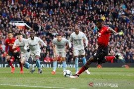 Manchester United menang atas West Ham karena 2 penalti