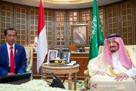 Jokowi dan Salman sepakati peningkatan kerja sama ekonomi