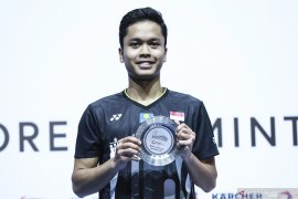 Ginting dan Jojo terhenti di babak pertama Asia Championship