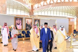 Jokowi dijadwalkan temui Raja Salman di Riyadh
