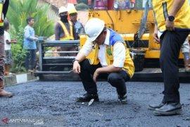 Menteri PUPR tegaskan Perbaikan jalan Musi Banyuasin mulai dilakukan