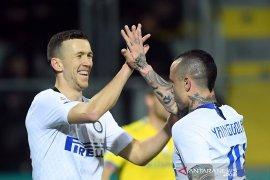 Menang 3-1, Inter bawa pulang tiga poin dari markas Frosinone