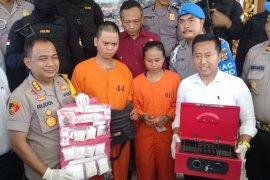 Pasangan pengedar sabu Yogyakarta-Bali ditahan