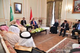 Jokowi ajak Arab Saudi kerja sama syiarkan Islam toleran