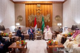 Saudi crown prince receives Indonesian president