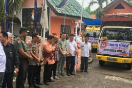 KPU Binjai distribusikan logistik pemilu