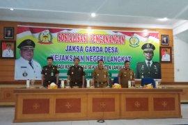 Jaksa Garda Desa awasi pengelolaan keuangan DD dan ADD