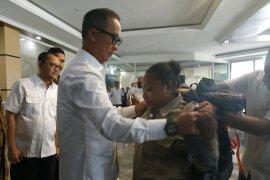 Menteri Sosial lepas 45 pendamping Komunitas Adat Terpencil.