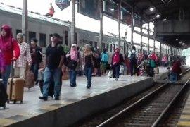 Jumlah penumpang KA di Daop Madiun saat libur pemilu stagnan