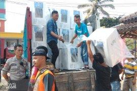 Distribusi logistik Pemilu di Kota Sukabumi sudah 100 persen