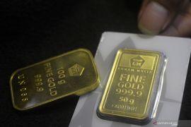 Harga emas Aneka Tambang naik Rp2.000