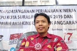 KPU Surabaya pastikan logistik pemilu terdistribusi ke seluruh TPS