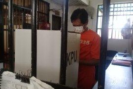 Mantan Wagub Bali Sudikerta mencoblos di Rutan Polda Bali (video)