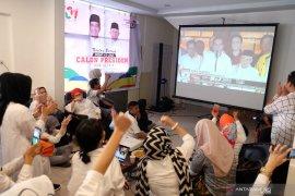 Hitung cepat Indo Barometer :  Capres Jokowi-Ma'ruf menang