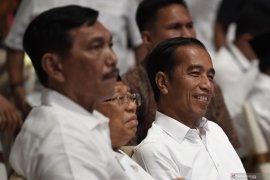 Capres Jokowi-Ma'ruf Amin tunggu penghitungan resmi KPU