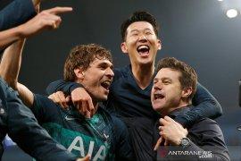 Tottenham susul Liverpool berkat gol tandang