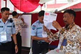 Jokowi unggul di Lapas Gunungsindur, Prabowo unggul di Lapas Paledang